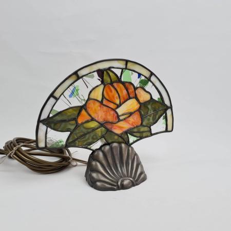 Tischlampe im Tiffany-Stil - OL & LWMC Leuchte Glaskunst