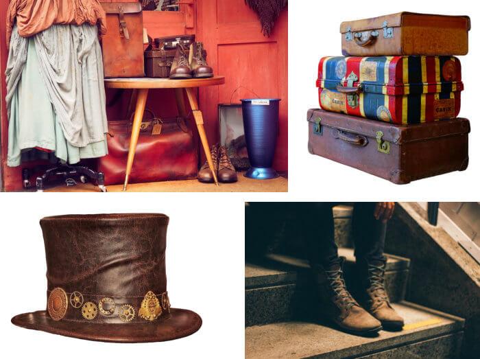 half off ed976 9a4f0 Kleidung und Accessoires - Dekoration aus allen Jahrzehnten