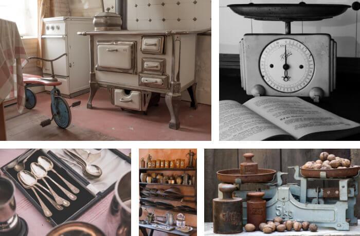 Vintage Dekoration für die Küche - Dekoration aus allen ...