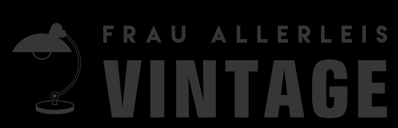 Frau Allerleis Vintage-Logo